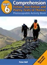 Year 6 Comprehension: Fiction, Non-Fiction & Poetry Texts in Themes