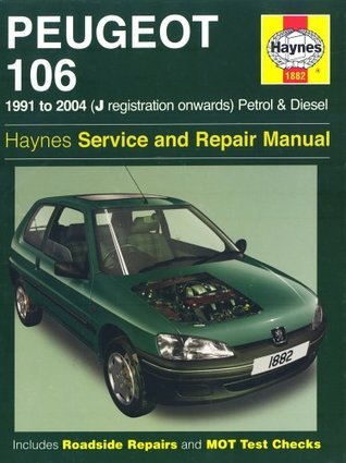 Peugeot 106 Petrol And Diesel Service And Repair Manual: 1991 To 2004