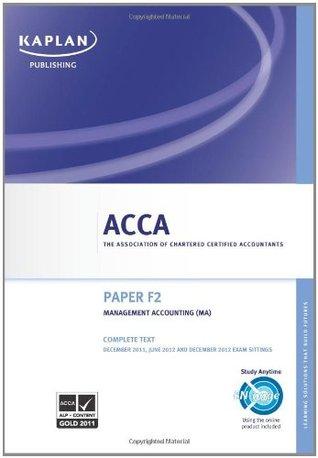 Kaplan Acca Books Pdf