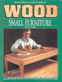 Wood: Small Furniture You Can Make