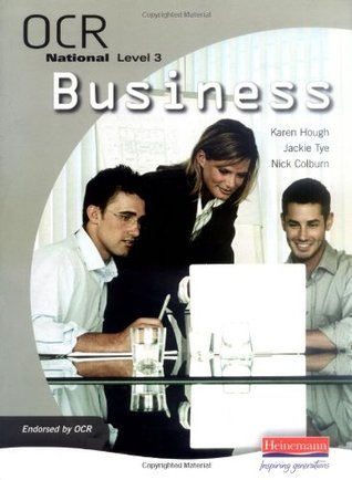 OCR National Level 3 in Business Student Book