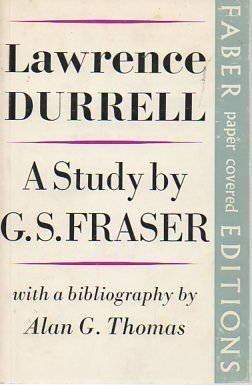 Lawrence Durrell: A Study