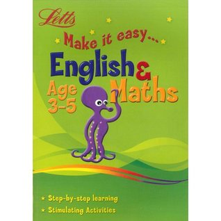 Letts Make It Easy English And Maths Ages 3-5