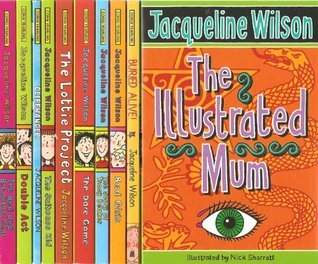 Jacqueline Wilson 10 book set: Buried Alive!, Bad Girls, The Story of Tracy Beaker, Dare Game, Lottie Project, Suitcase Kid, Illustrated Mum, Bed and Breakfast Star, Double Act & Cliffhanger