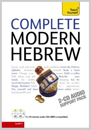 Complete Modern Hebrew: Teach Yourself by Shula Gilboa — Reviews ...
