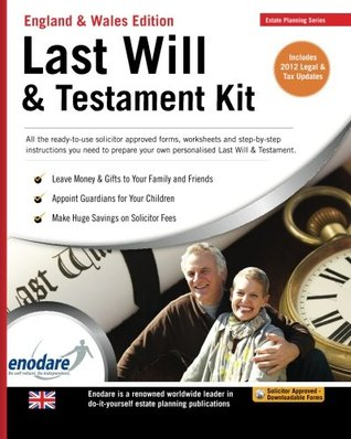 Legal will kit by enodare solutioingenieria