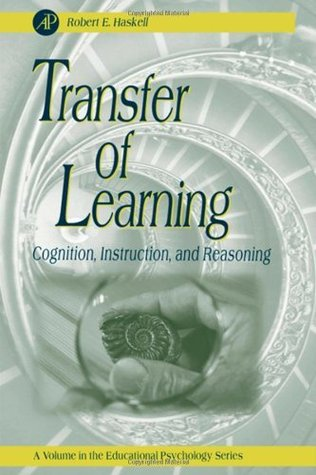 Transfer Of Learning Cognition Instruction And Reasoning By