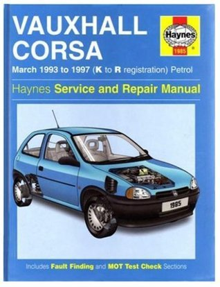 Vauxhall Corsa (March 1993-1997) Service & Repair Manual