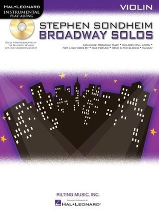 Instrumental Play-Along: Stephen Sondheim Broadway Solos - Violin