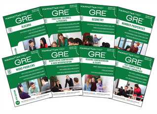 Manhattan Prep GRE Set Of 8 Strategy Guides 3rd Edition By