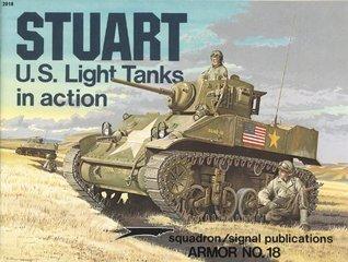 M3 Stuart Light Tanks in action - Armor No. 18