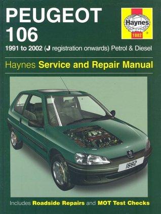 Peugeot 106 petrol and diesel service and repair manual: 1991 to.