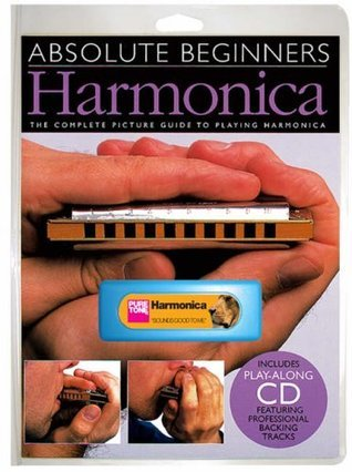 Absolute Beginners Harmonica Instrument Pack Book/Cd