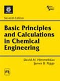 Basic Principles And Calculations In Chemical Engineering 7th International Edition