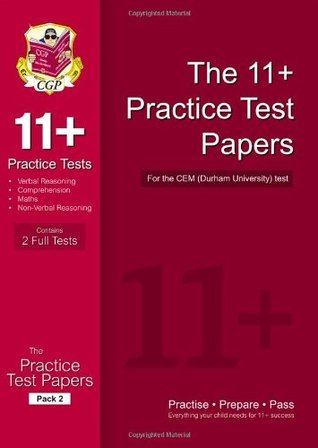 11+ Practice Tests for the CEM Test - Pack 2