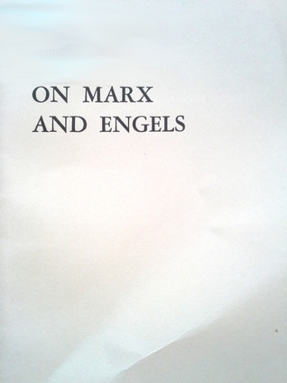 On Marx and Engels