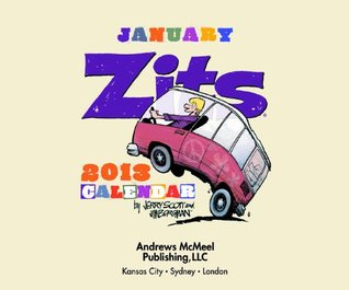 Zits January 2013 Day-to-Day Calendar