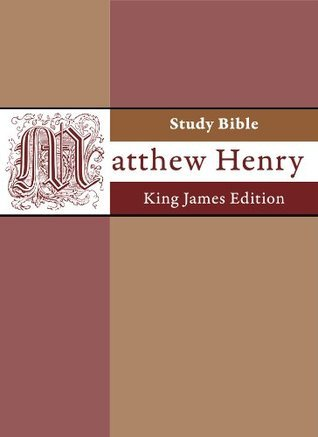 Matthew Henry Study Bible - King James Edition (KJV) - easy navigation
