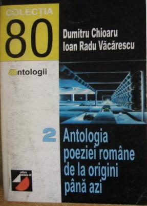 Antologia poeziei românești de la origini până azi vol. 2