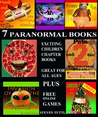 7 Paranormal Books (Exciting Children Chapter Books) Includes Free Online Games