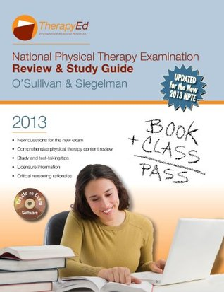 national physical therapy examination review study guide 2013 by rh goodreads com NPTE Practice Questions npte exam review and study guide