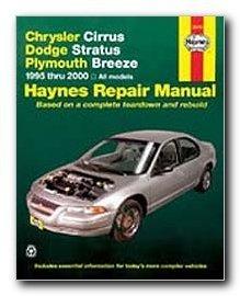 Haynes Repair Manual Chrysler Cirrus Dodge Stratus and Plymouth Breeze 95 - 00