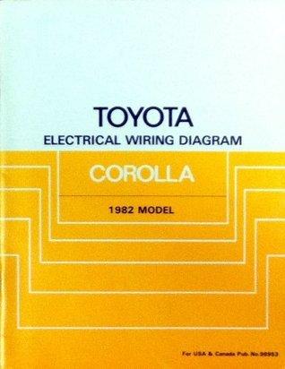Toyota Electrical Wiring Diagram: Corolla 1982 Model