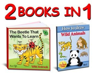 Activity Books - Learn the Wild Animal's Names and How to Draw Wild Animals Step by Step