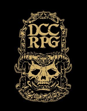 Dungeon Crawl Classics RPG Limited Gold Foil Edition