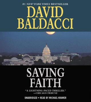 Saving Faith by David Baldacci Unabridged CD Audiobook