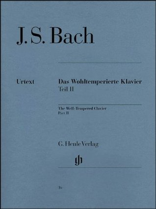 Well-Tempered Clavier Bwv 870-893 Part Ii