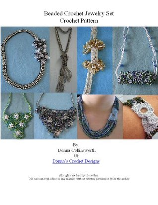 Set of Seven Beaded Necklaces and Choker Crochet Pattern