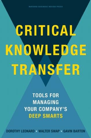 Critical Knowledge Transfer: Tools for Managing Your Company's Deep Smarts Descargas gratuitas de Google