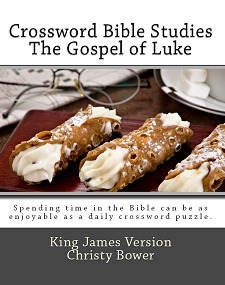 Crossword Bible Studies - The Gospel of Luke by Christy Bower