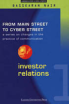 Government Relations: From Main Street to Cyber Street: Changes in the Practice of Communication Volume 2