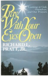 Pray with Your Eyes Open - Leader's Guide