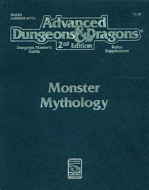 Monster Mythology, Dungeon Master's Guide by Carl Sargent