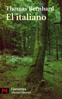 El italiano by Thomas Bernhard