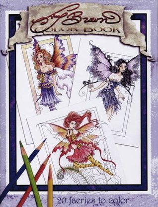 Amy Brown Fairies Coloring Book