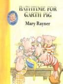 Bathtime for Garth Pig