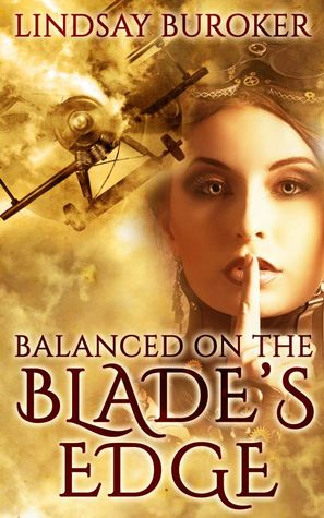 Balanced on the Blade's Edge (Dragon Blood, #1)
