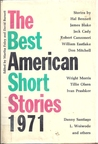 The Best American Short Stories 1971