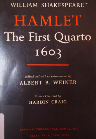Hamlet: The First Quarto, 1603