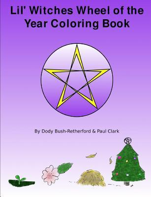 Lil Witches Wheel of the Year Coloring Book