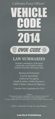 2014 Vehicle Code: Qwik Code California
