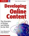 Developing Online Content: The Principles of Writing and Editing for the Web
