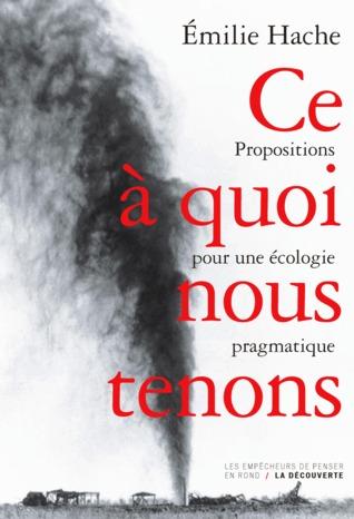 Ce à quoi nous tenons: Propositions pour une écologie pragmatique