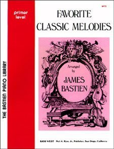 Favorite Classic Melodies Primer-4 (5 Book Set, WP72, WP73, WP74, WP75, WP76)