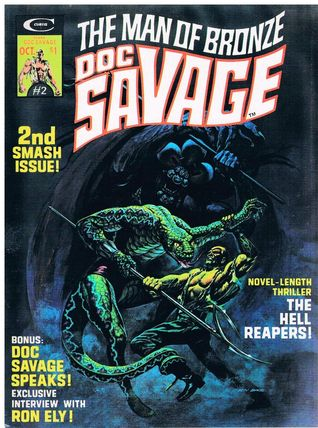 Doc Savage - The Man of Bronze (#2): The Hell Reapers!