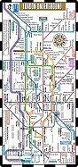 Streetwise London Underground Map - The Tube - Laminated London Metro Map: Folding Pocket & Wallet Size Metro Map for Travel (2011 Updated)